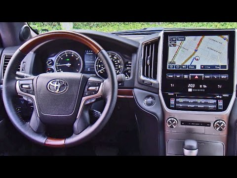 ► 2016 Toyota Land Cruiser INTERIOR