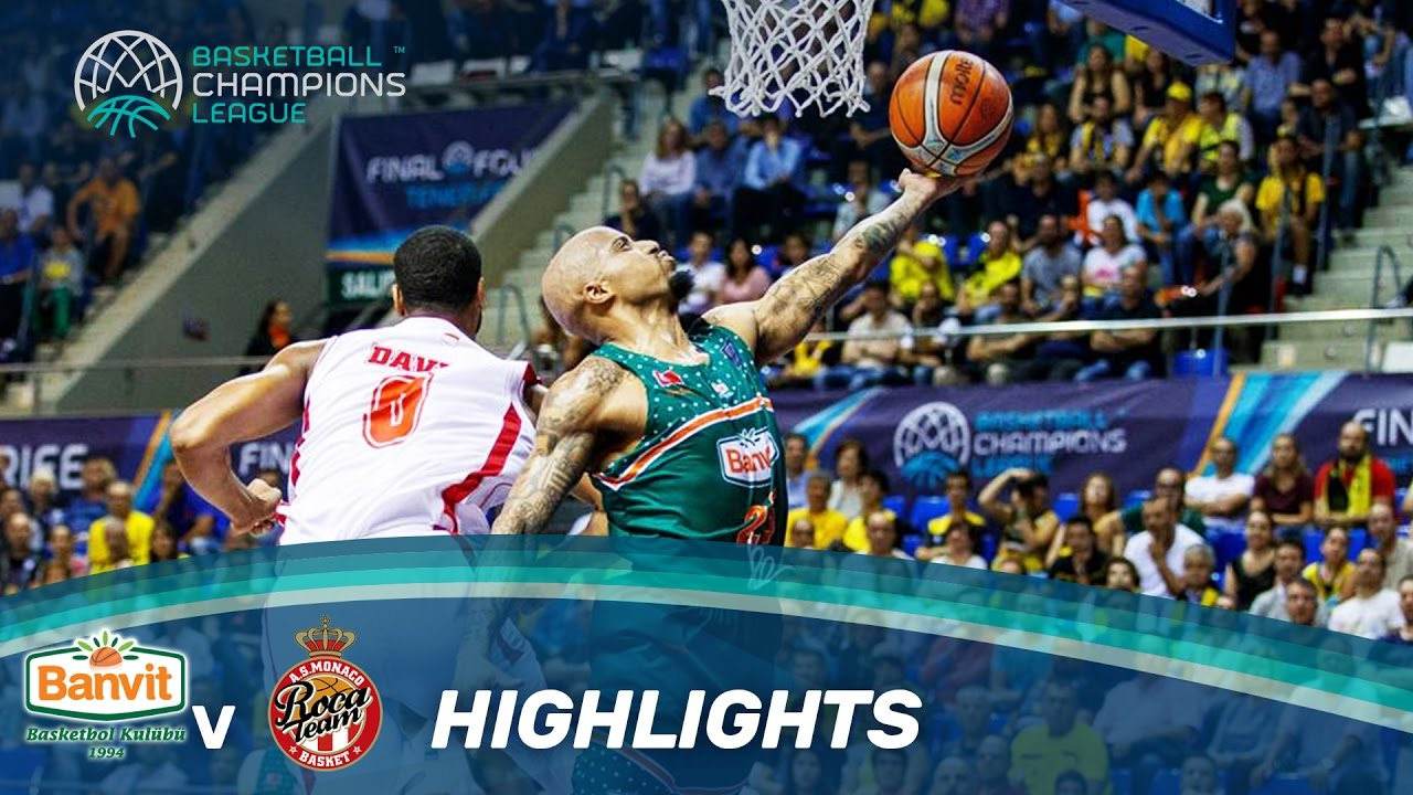 Banvit v AS Monaco - Highlights - Semi-Finals - Final Four