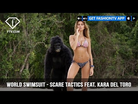 World Swimsuit - Scare Tactics with Kang feat. Kara Del Toro | FashionTV | FTV