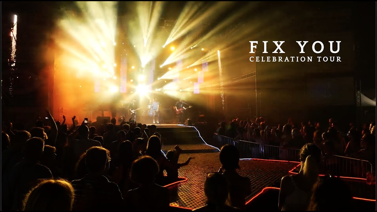 Coldplay - Fix You (live from Celebration Tour 2019) | Liveplay cover