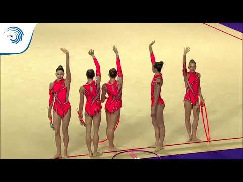 REPLAY - 2016 Rhythmic Europeans, 3 Clubs And 2 Hoops Final