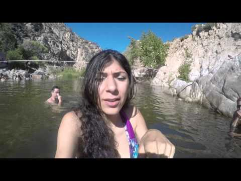 Swimming at a nude hot springs area! thumbnail
