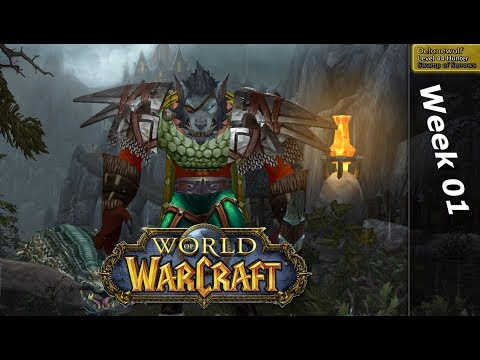 World of Warcraft - one week in