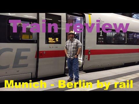 Train Review | Munich To Berlin Germany On DB Bahn ICE Train
