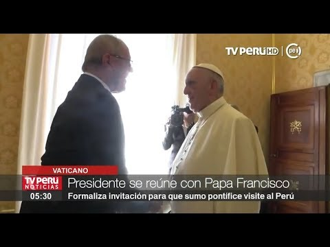 Papa Francisco recibe en audiencia privada a presidente Pedro Pablo Kuczynski