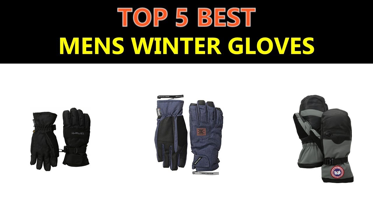 Best Mens Winter Gloves 2019 Best Mens Winter Gloves 2019   YouTube