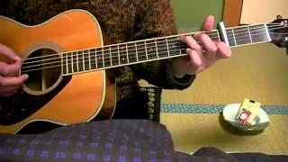 素人のギター弾き語り 学生時代 ペギー葉山 詞曲・平岡精二、1964年 Gak...