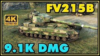 World of Tanks | FV215b - 8 Kills - 9.1K Damage