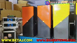 BHARAT ELECTRONICS BEST DJ SYSTEM CHECKING 2 CA20 6000w 4 top 2 bass only-155000