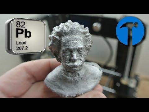 EXPERIMENT Metal models with a 3d printer