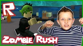 Almost Level 215 in Roblox Zombie Rush