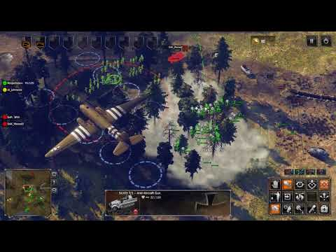 Sudden Strike 4   Multiplayer Match #256  No Commentary