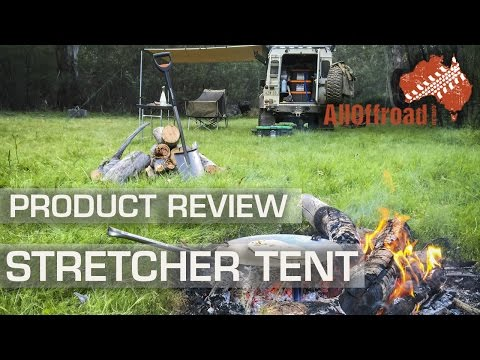 Stretcher Cot | OzTrail Stretcher Tent | ThermaRest NeoAir Dream | Product Review | ALLOFFROAD #88