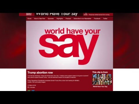 New Wave Feminists on the BBC's 'World Have Your Say'