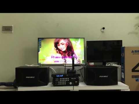 [Nguyễn Quang] mở hộp bộ âm ly,mic không dây,loa  Karaoke Gia Đình Paramax cực hay.