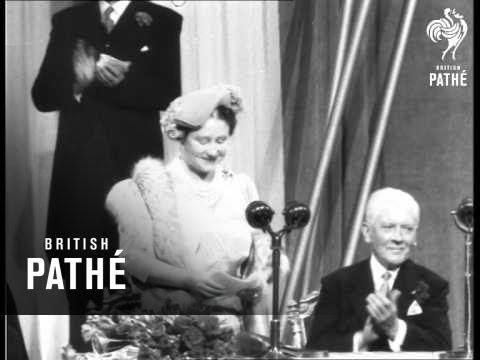 Queen Mother In Scotland - Opens Scottish Industries Exhibition (1954)