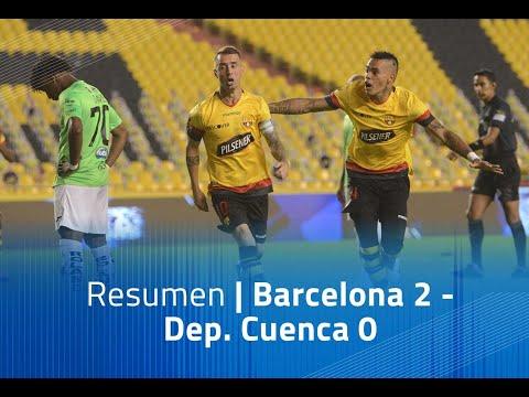 Barcelona SC Dep. Cuenca Goals And Highlights