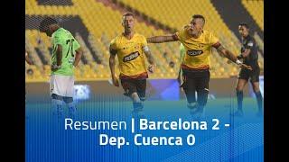 Resumen: Barcelona 2 - Dep. Cuenca 0