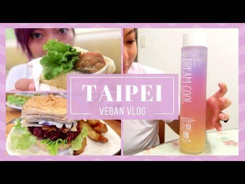 🦄 VEGAN IN TAIPEI - EATING NON-STOP (FIRST VLOG)