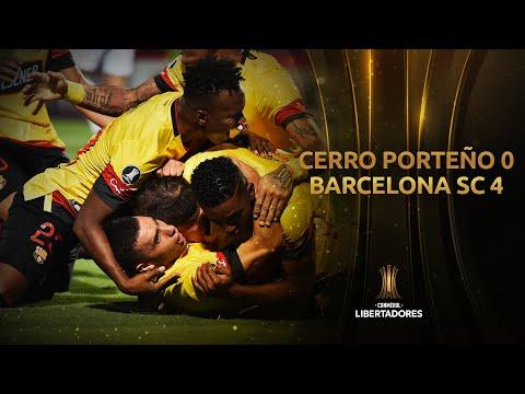 Cerro Porteño vs. Barcelona SC [0-4] | GOLES | Fase 3 (Vuelta) | Libertadores 2020