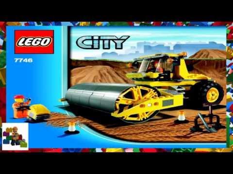 Lego Instructions City Construction 7746 Single Drum Roller