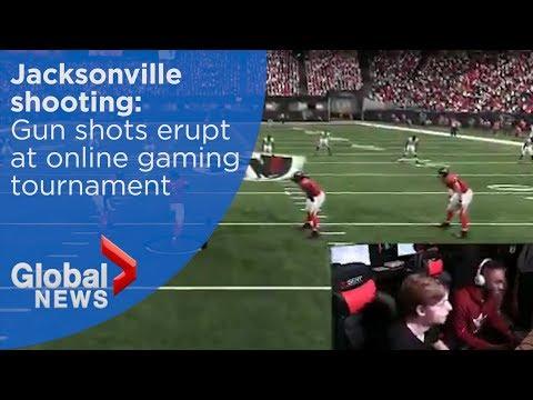 Jacksonville shooting: Gunshots heard on live stream at Madden online gaming tournament