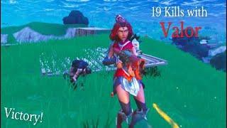 NOUVEAU Valor Skin High Kill Gameplay! (Fortnite Battle Royale)