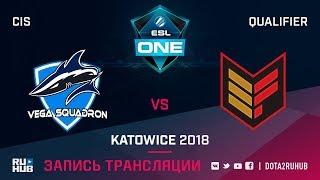 Vega Squadron vs Effect, ESL One Katowice CIS, game 2 [Maelstorm, GodHunt]