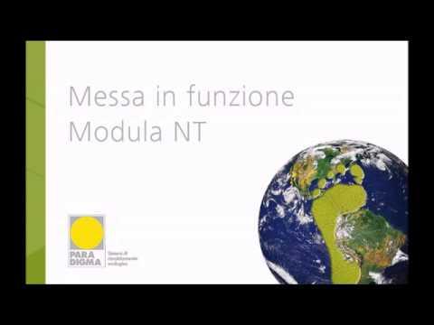 Caldaia  Modula NT: Messa in funzione