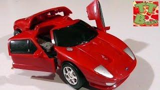 Игрушка Робот Трансформер. Распаковка и обзор от Игорька. Ford GT Transformers Robot Cars Toys