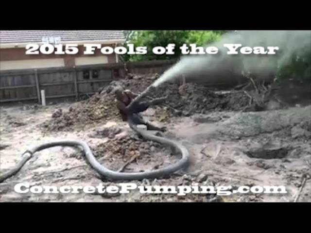 Using Air to Clean out Concrete Pump System