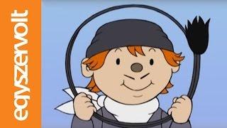 Gryllus Vilmos: Maszkabál - Kéményseprő (gyerekdal, mese, rajzfilm gyerekeknek)