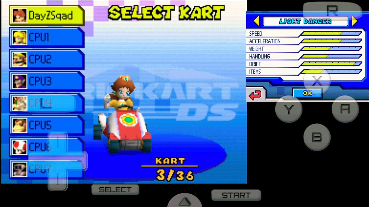 105592904 Mario Kart DS - VS race | Bowser Castle