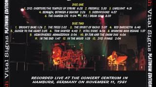 RUSH - VITAL SIGNS - PE - ( Nov 11th 1981 )