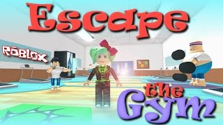 Let's Play ROBLOX | Escape the Gym Obby | SallyGreenGamer