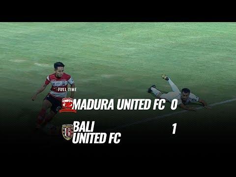 [Pekan 15] Cuplikan Pertandingan Madura United FC vs Bali United FC, 20 Agustus 2019