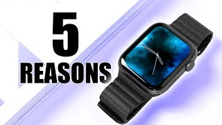 Apple Watch Series 4 - 5 Reasons You Should Buy This for your iPhone