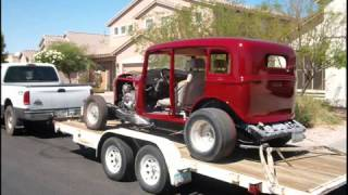Danny's 1933 Plymouth 4 Dr Sedan, Hot Rod Build