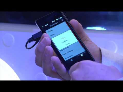LG BL40 Review @ CES