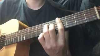 추운 비(cold rain) - 포미닛(4minute) 기타연주 guitar playing