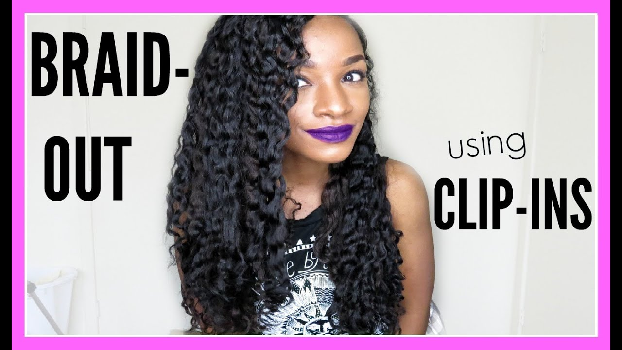 How to braid out w clip inseasy braid out tutorial for how to braid out w clip inseasy braid out tutorial for natural or relaxed hair youtube pmusecretfo Gallery