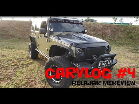 "JEEP WRANGLER SPORT IN DEPTH TOUR | CARVLOG#4 ""INDONESIA"""