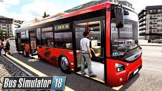 Trasa w nowej dzielnicy   Bus Simulator 18 (#10)