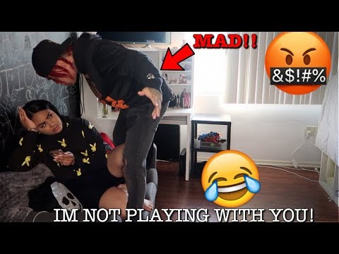 IGNORING MY BOYFRIEND FOR 24 HOURS!! **HE GETS SO MAD**