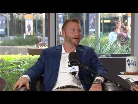 Rams Coach Sean McVay Joins The Rich Eisen Show In-Studio | Full Interview | 10/27/17