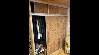 как сделать шкаф-купе своими силами из ОСБ панелей