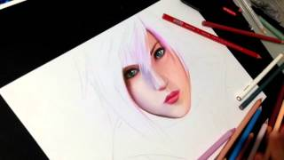 Drawing Lightning from Final Fantasy