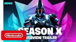 Fortnite Season X Battle Pass on Nintendo Switch