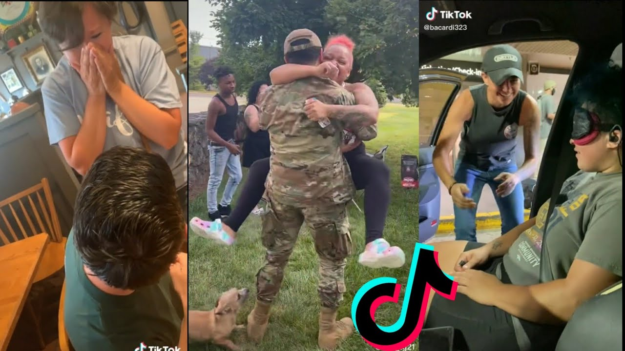 Military Coming Home Tiktok Compilation| Most Emotional Compilations #68