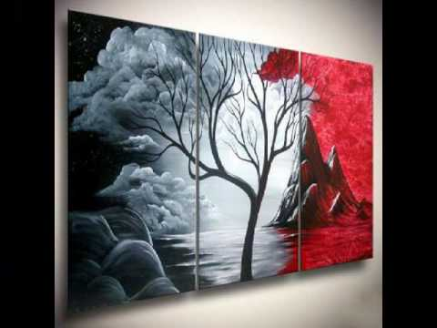 Abstract Paintings Of Trees For The Tree Of Life Fans
